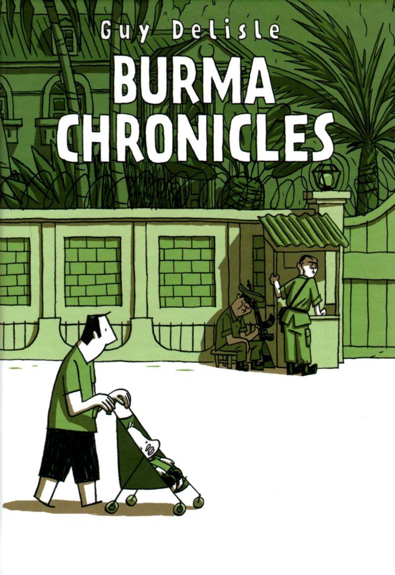 Burma Chronicles cover