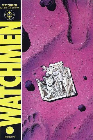 Watchmen No 4 cover