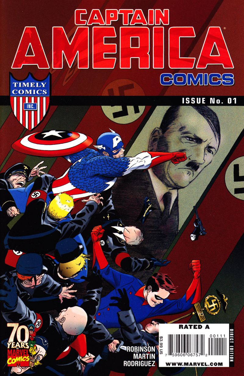 Captain America Comics one-shot cover