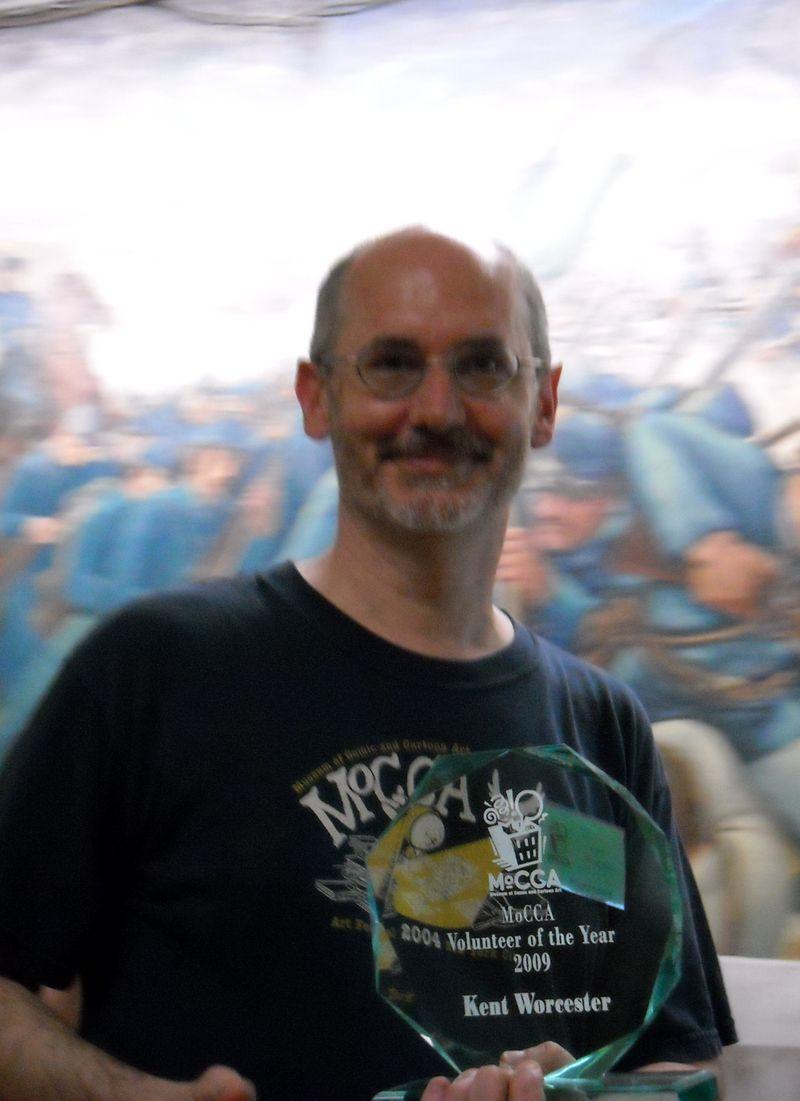 Kent Worcester, Volunteer of the Year