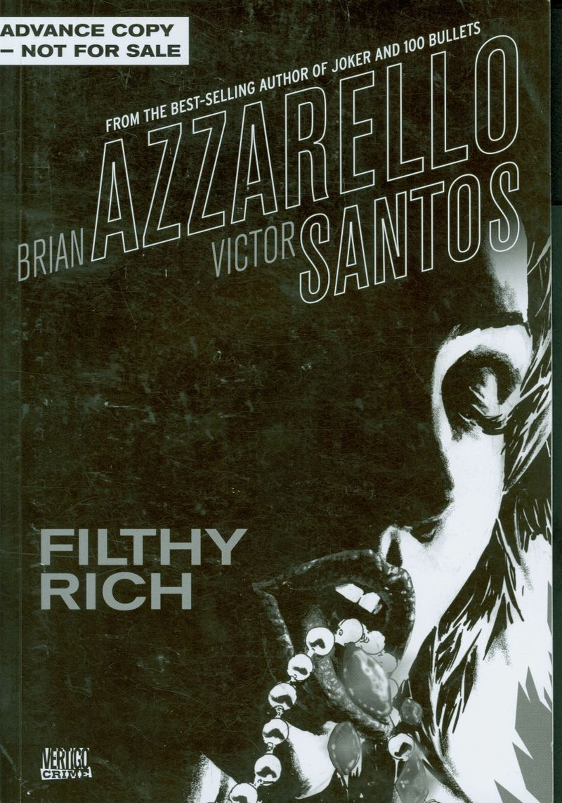 Filthy Rich Cover