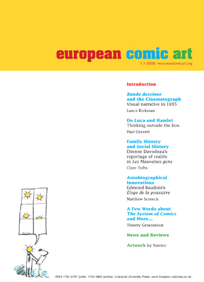 European Comic Art V1