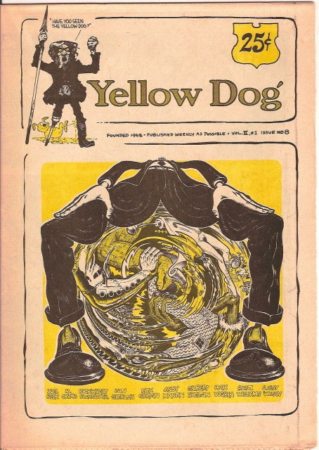 Yellow Dog #8 (1969), image courtesy of undergroundcollectibles.com