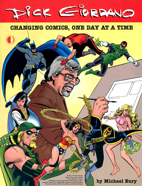 Changing Comics, One Day at a Time cover (Giordano)