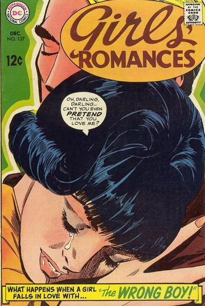 Girls' Romances 137 (Dec. 1968)