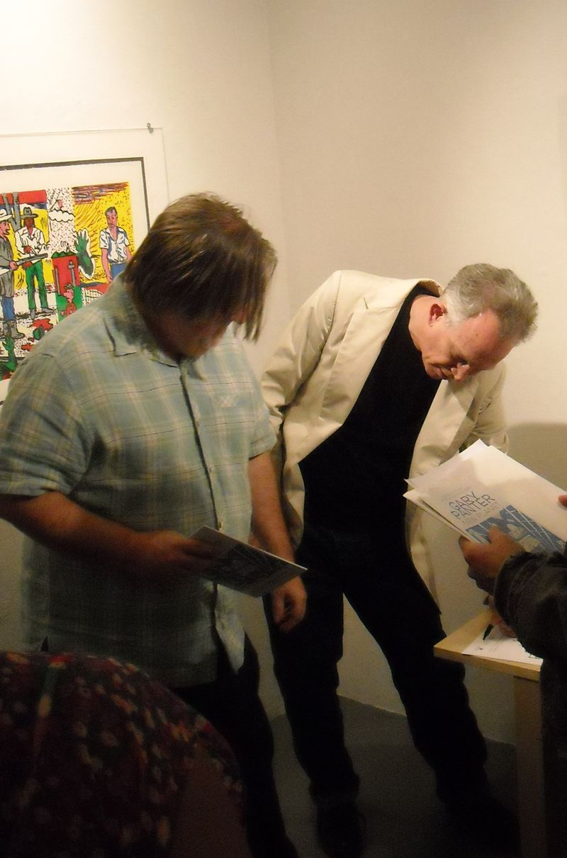 Gary Panter and Matt Groening