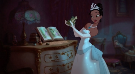 Tiana isn't sure about this (concept art taken from slashfilm.com)