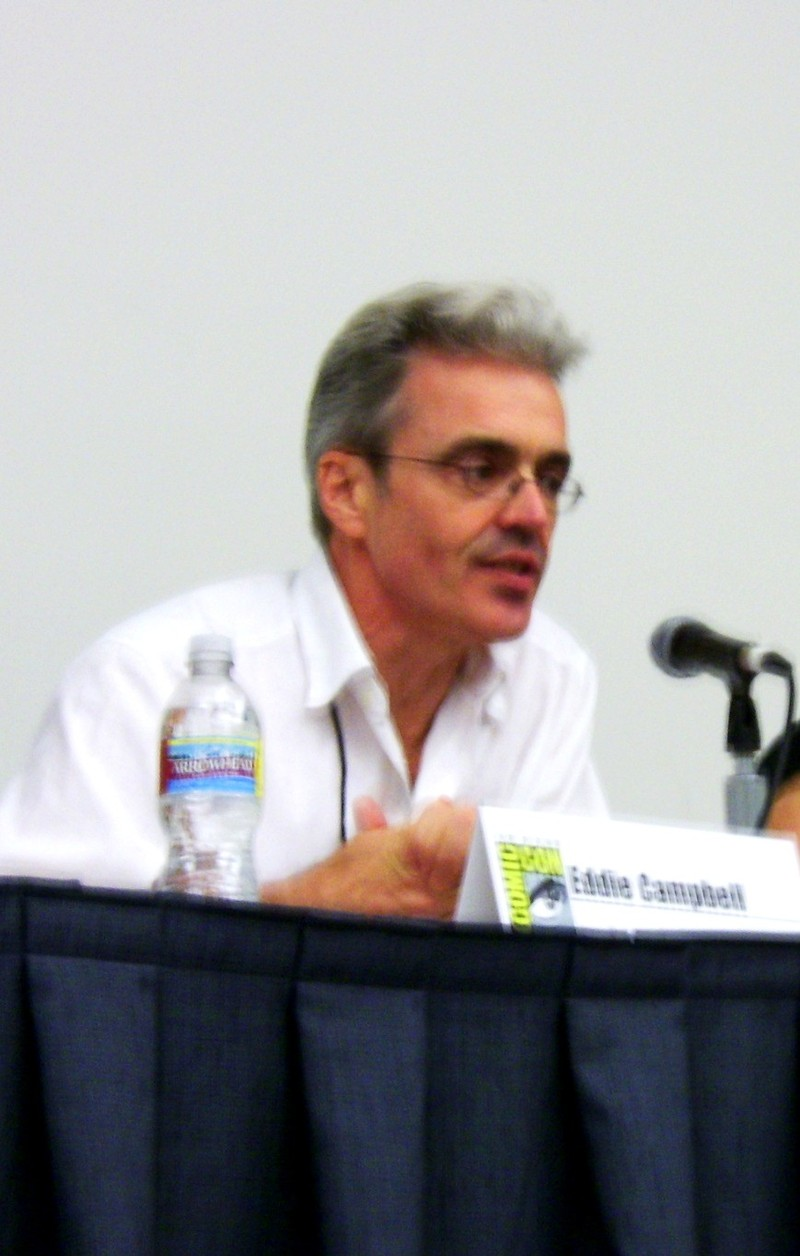 Mr. Eddie Campbell holds forth