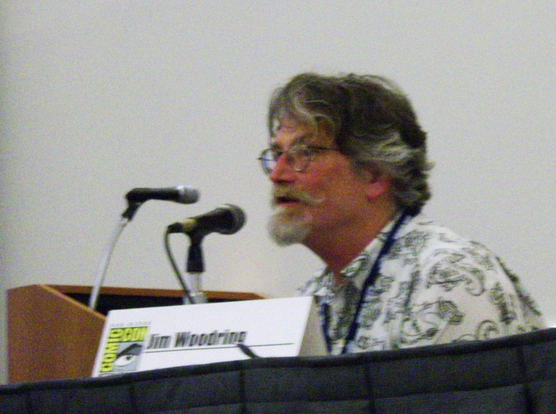 Bejabbers, it's Jim Woodring!