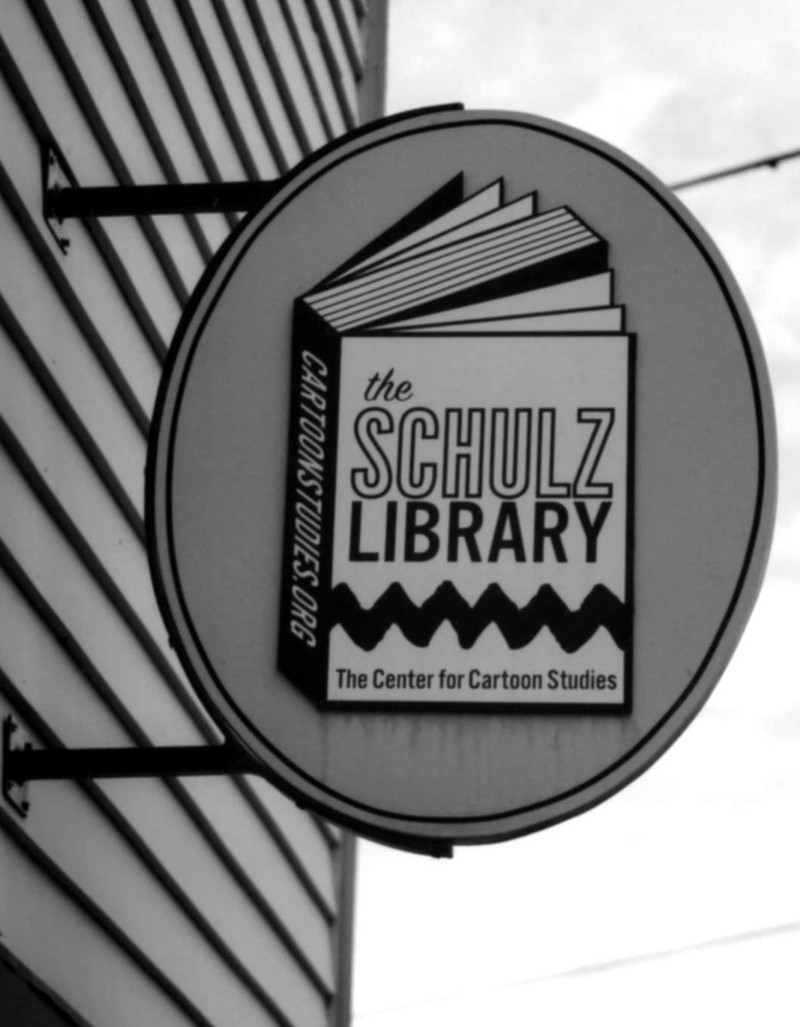 Schulz_library_sign